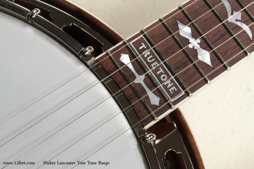Huber Lancaster True Tone Banjo inlay