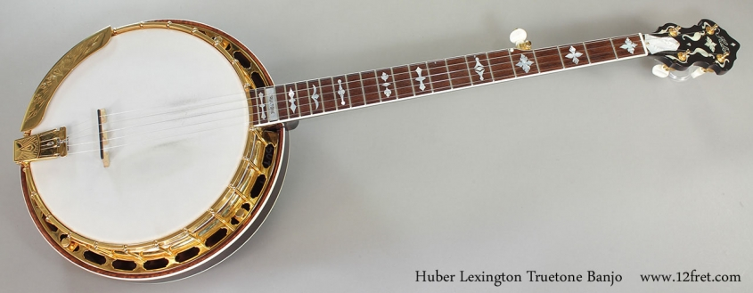 Huber Lexington Truetone Banjo Full Front View