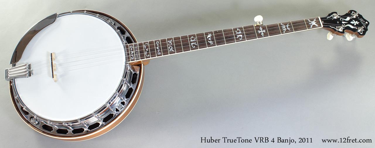 Huber TrueTone VRB 4 Banjo 2011 full front view