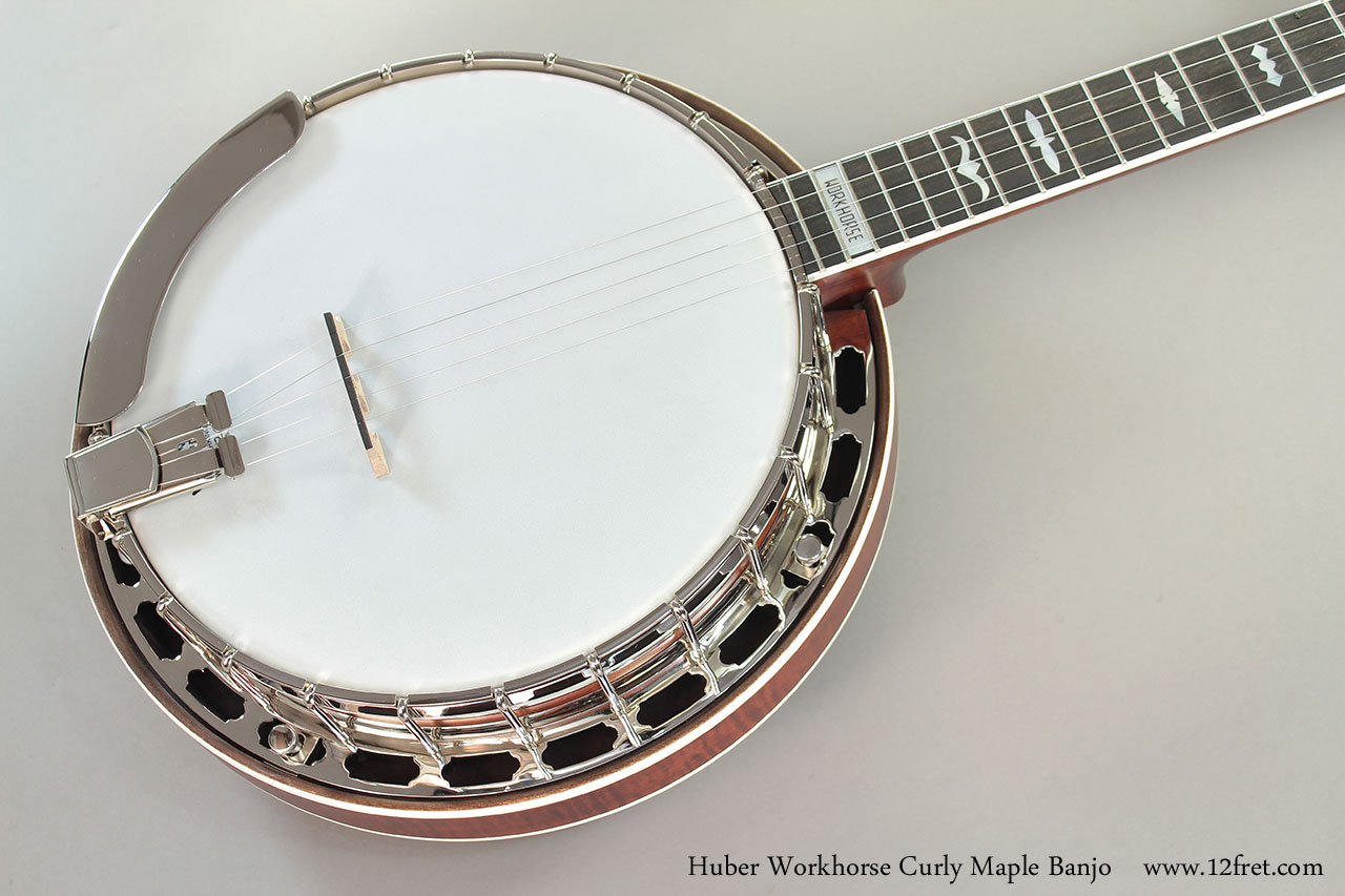 Huber Workhorse Curly Maple Banjo Top