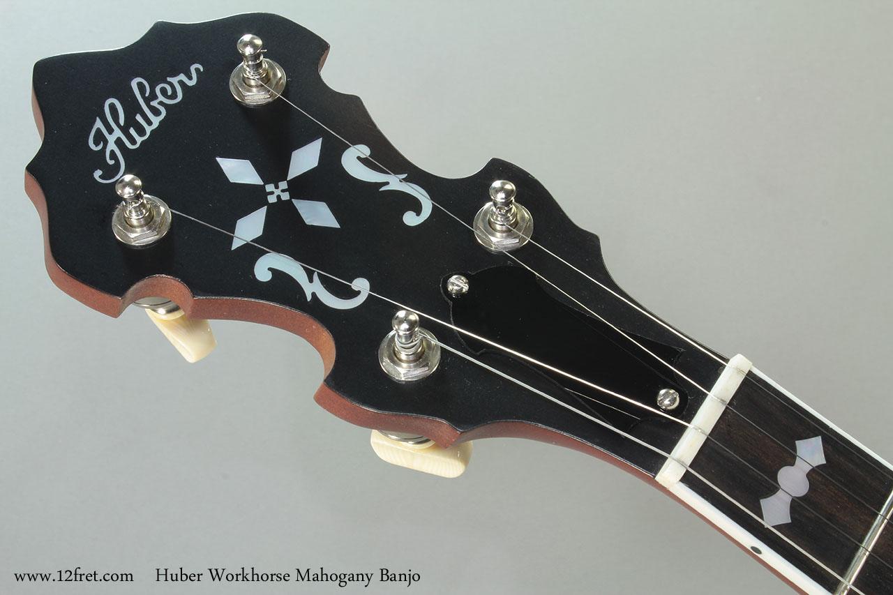 Huber Workhorse Mahogany Banjo Head Front