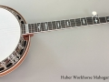 Huber Workhorse Mahogany Banjo Full Front View