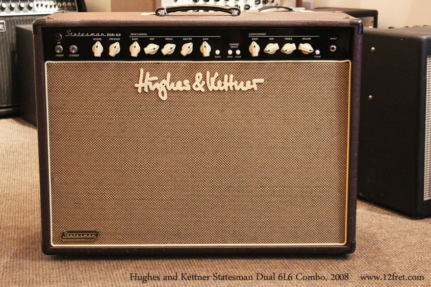 Hughes and Kettner Statesman Dual 6L6 Combo, 2008 Full Front View