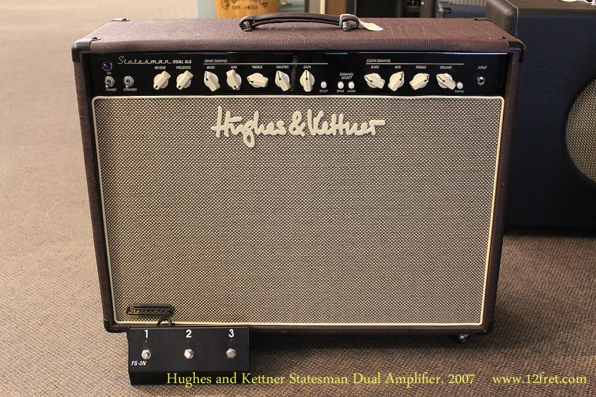 Hughes and Kettner Statesman Dual Amplifier, 2007 Full Front View