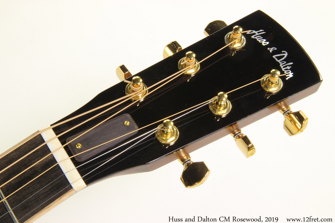 Huss and Dalton CM Rosewood, 2019 Head Front View