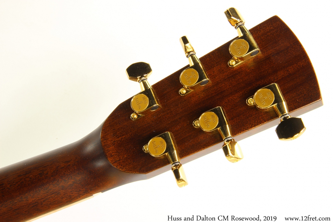 Huss and Dalton CM Rosewood, 2019 Head Rear View