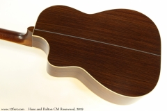 Huss and Dalton CM Rosewood, 2019 Back View