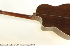Huss and Dalton CM Rosewood, 2019 Full Rear View