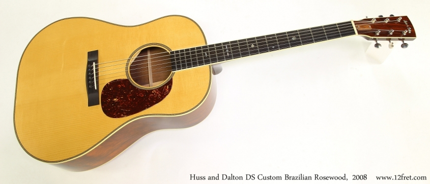Huss and Dalton DS Custom Brazilian Rosewood,  2008  Full Front View