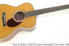 Huss & Dalton TOM R Custom Adirondack Top Guitar, 2020 Full Front View