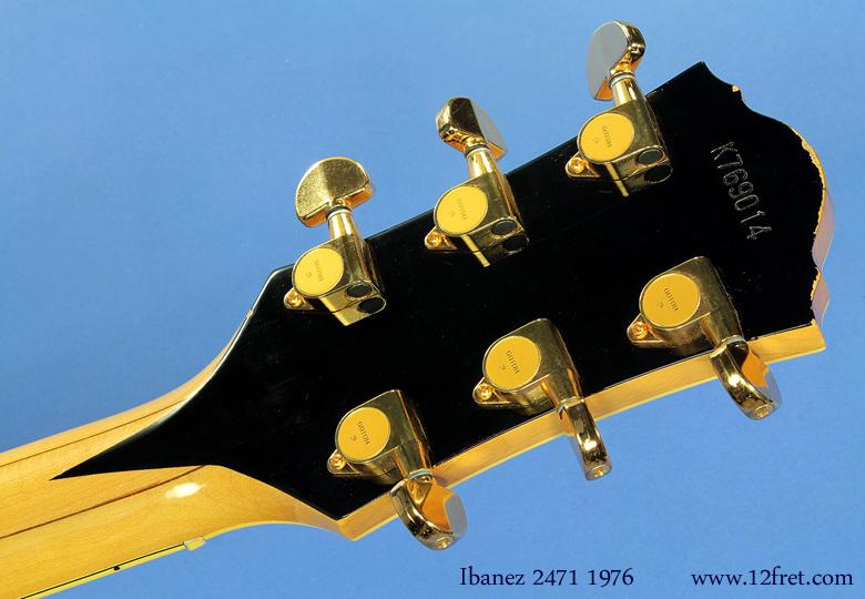 Ibanez model 2471 1976 head rear