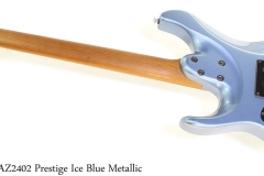 Ibanez AZ2402 Prestige Ice Blue Metallic Full Rear View
