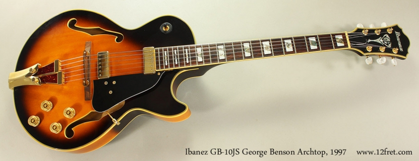 Ibanez GB-10JS George Benson Archtop, 1997 Full Front View