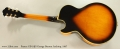 Ibanez GB-10JS George Benson Archtop, 1997 Full Rear View