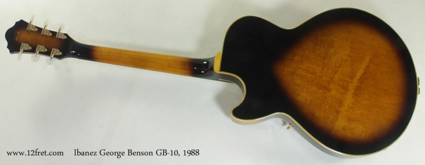 Ibanez George Benson GB-10 1988 full rear view