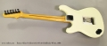 Ibanez Allan Holdsworth AH-20 Solidbody White, 1986 Full Rear View