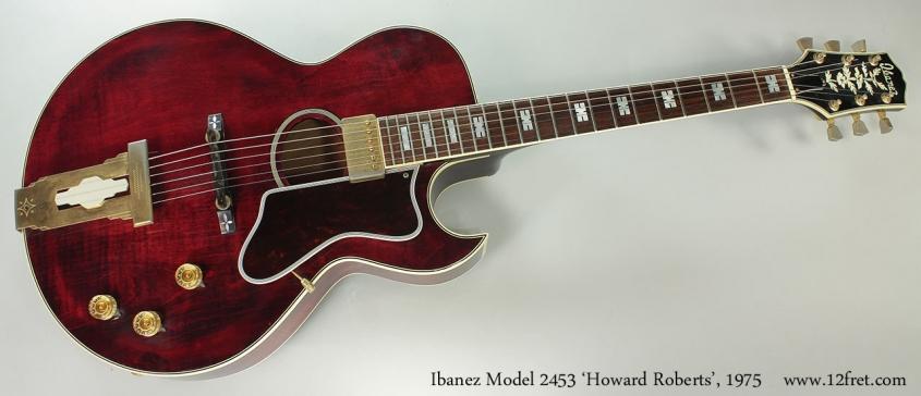 Ibanez Model 2453 'Howard Roberts', 1975 Full Front VIew