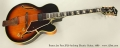 Ibanez Joe Pass JP20 Archtop Electric Guitar, 1980 Full Front View