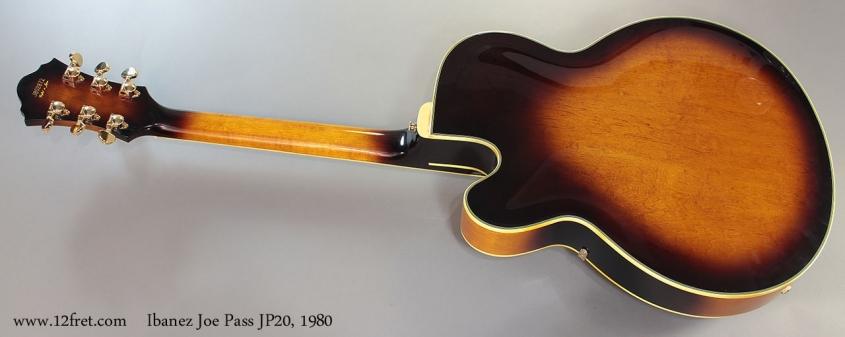 Ibanez Joe Pass JP20, 1980 Full Rear View