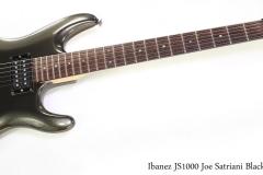 Ibanez JS1000 Joe Satriani Black Pearl, 2005   Full Front VIew