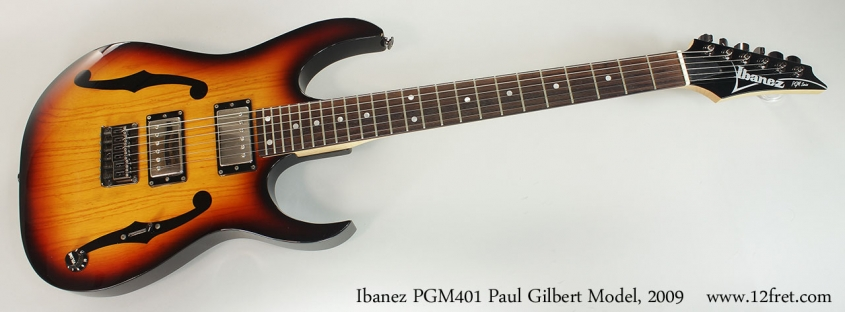 Ibanez PGM401 Paul Gilbert Model, 2009 Full Front View