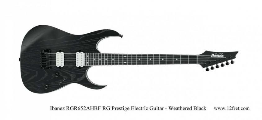 IbanezRGR652AHBF-RG-Prestige-Electric-Guitar-Weathered-Black-TheTwelfthFret