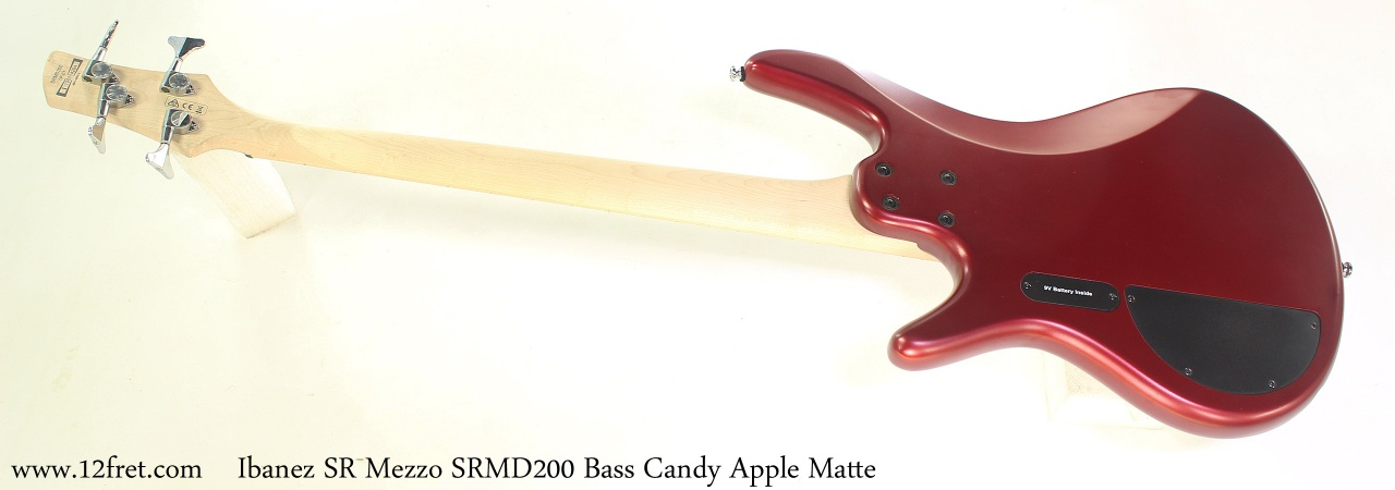 Ibanez Mezzo SRMD200 Candy Apple Matte