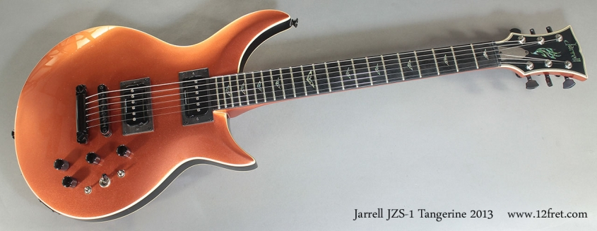 Jarrell JZS-1 Tangerine 2013 full front view