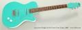 Jerry Jones SingleCut Sea Foam Green Guitar, 2008 Full Front View