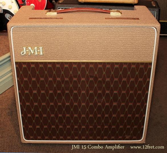 JMI 15 Combo Amp full front view