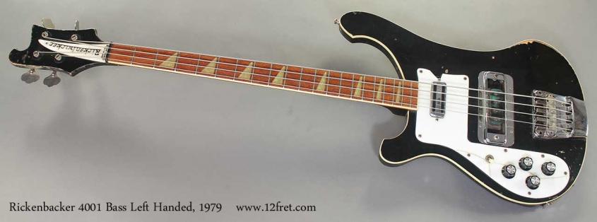 Rickenbacker 4001 Bass Left Handed, 1979