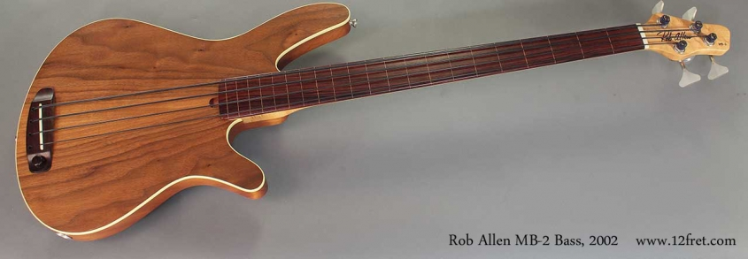 Rob Allen MB-2 Bass, 2002