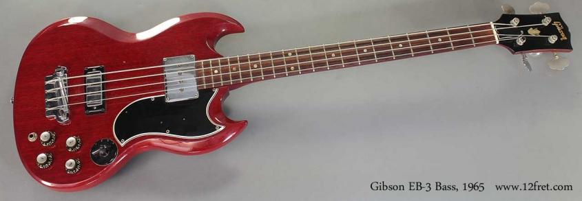 Gibson EB-3 Bass, 1965