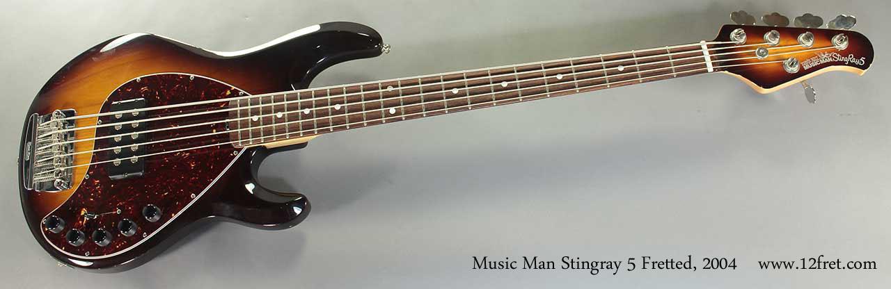 2004 ernie ball music man stingray 5 bass. Black Bedroom Furniture Sets. Home Design Ideas