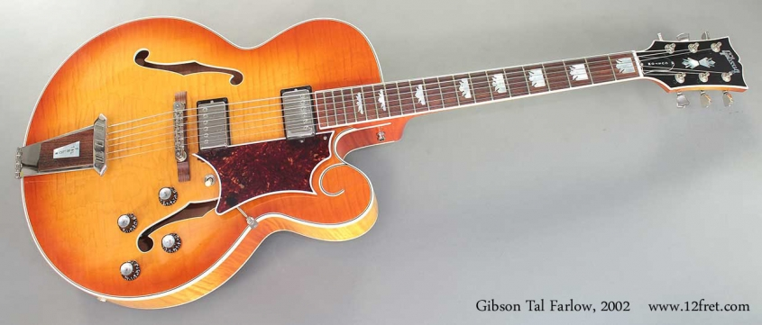Gibson Tal Farlow 2002 Full Front View
