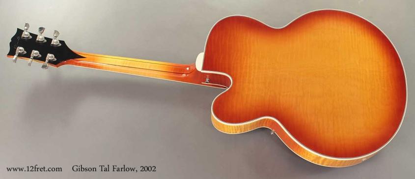 Gibson Tal Farlow 2002 Full Rear View