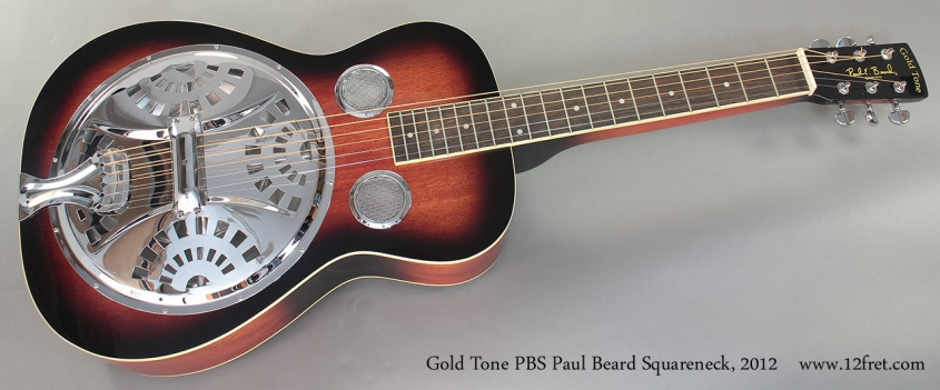 Gold Tone PBS Paul Beard Squareneck 2012 Full Front View