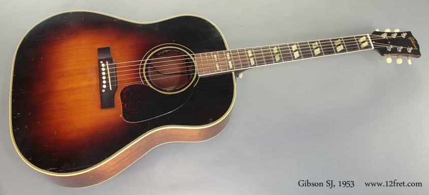 Gibson SJ 1953 full front view