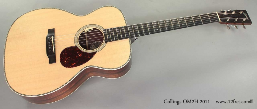 Collings OM2H 2011 full front view