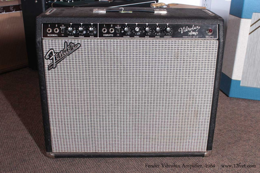 Fender Vibrolux Amplifier 1964 full front view