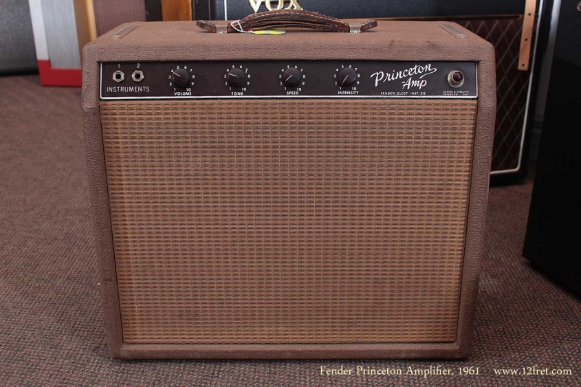 Fender Princeton Amplifier 1961 full front view