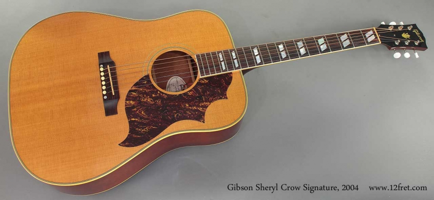 Gibson Sheryl Crow Signature 2004 full front view