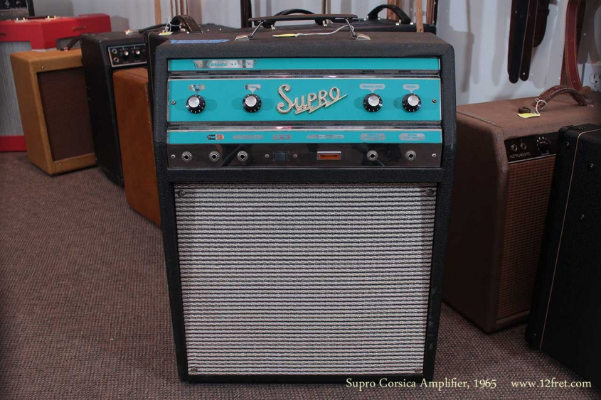 Supro Corsica Amplifier 1965 full front view