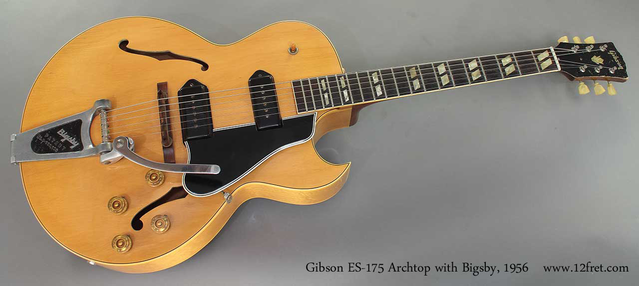 1956 Gibson Es 175 Archtop Www 12fret Com