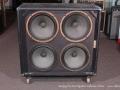 Ampeg V4 4x12 Speaker Cabinet, 1970's full front Grille Removed