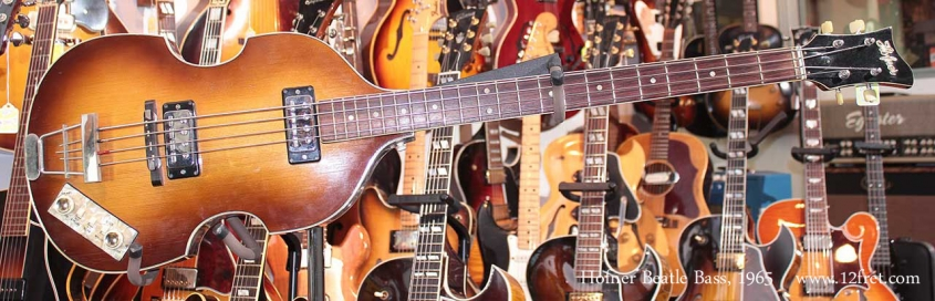 Hofner Beatle Bass 1965 Just In Full Front