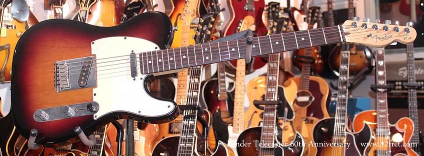 Fender Telecaster 60th anniversary Sunburst Just In Full Front