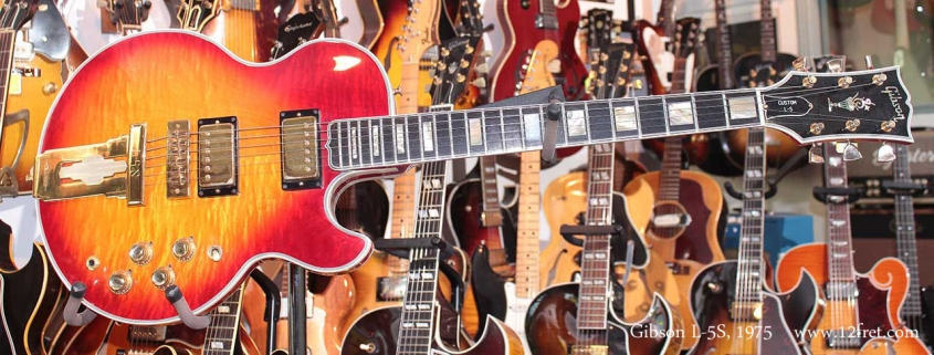Gibson L5S Cherryburst 1975 Just In Full Front