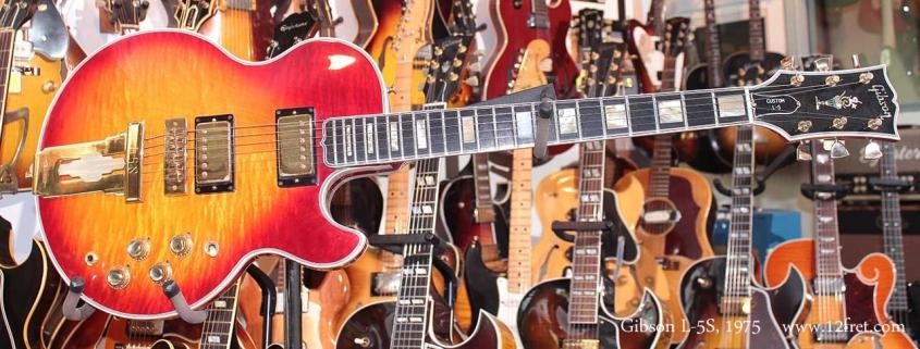 Gibson L5S Cherryburst 1975 Just In Full Front