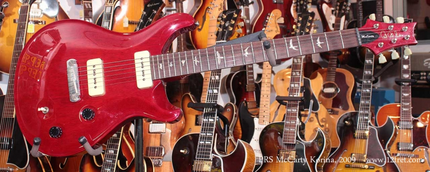 PRS McCarty Korina 2009 Just In Full Front